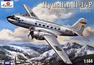 AMODEL Ilyushin IL-14P DDR...