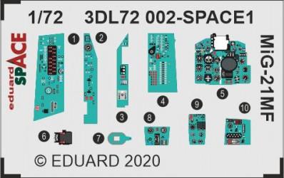 EDUARD SPACE MiG-21MF