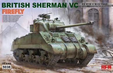 RYEFIELD Britisch Sherman...