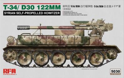 RYEFIELD T-34/D30 122mm...