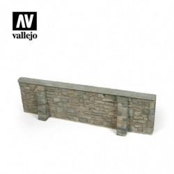 VALLEJO Ardennes Village Wall