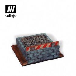 VALLEJO Railroad Buffer Block