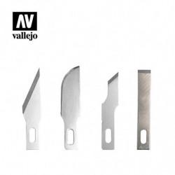 VALLEJO 4 Assorted Blades...