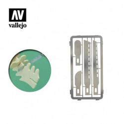 VALLEJO Mini Saw Blades 4pcs.