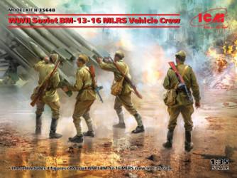ICM WWII Soviet BM-13-16...