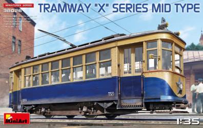 """MINIART Tramway """"X"""" Series mid"""