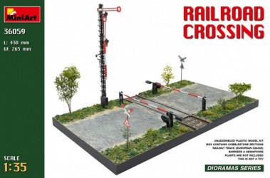 MINIART Railroad Crossing