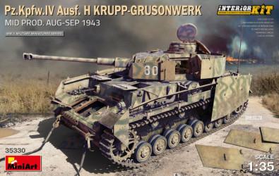 MINIART Pz.Kpfw.IV Ausf.H...