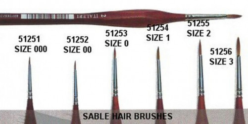 ITALERI Ecset Brush Sable...