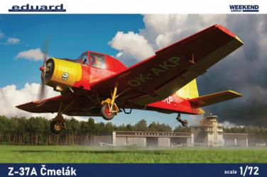 EDUARD WEEKEND ED Z-37A Cmelák