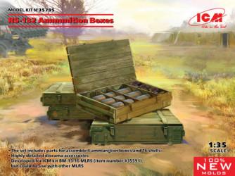 ICM RS-132 Ammunition Boxes
