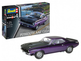 REVELL 70 Plymouth AAR Cuda