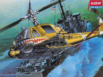 "ACADEMY MINICRAFT UH-1C ""FROG"""