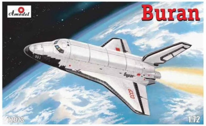 AMODEL Buran Soviet Shuttle