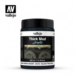 VALLEJO THICK MUD Black Mud...