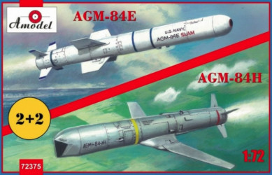 AMODEL AGM-84E and AGM-84H...