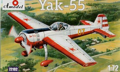 AMODEL Yak-55 Soviet...