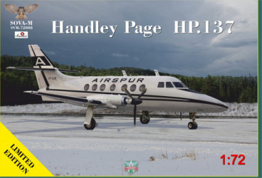 SOVA-M Handley Page HP.137