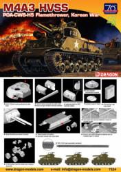 DRAGON M4A3 HVSS POA-CWS-H5...