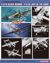 DRAGON P-61A Black Window/...