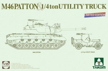TAKOM M46 PATTON + 1/4 ton...