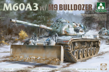 TAKOM M60A3 w/ M9 Bulldozer