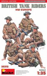 MINIART British Tank Riders...