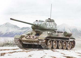ITALERI T-34/85 Korean War