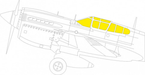 EDUARD MASK  P-40M TFace