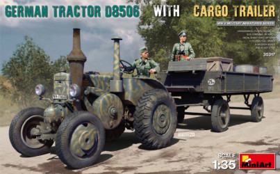 MINIART German Tractor...