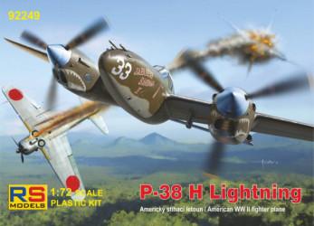 RS MODELS P-38 H Lightning