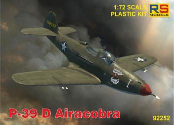 RS MODELS P-39 D/F/K Airacobra