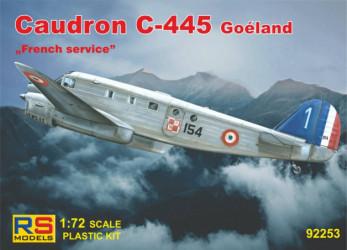 RS MODELS Caudron C-445 France