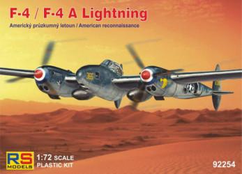 RS MODELS F-4/F-4A Lightning