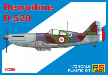 RS MODELS Dewoitine D-520