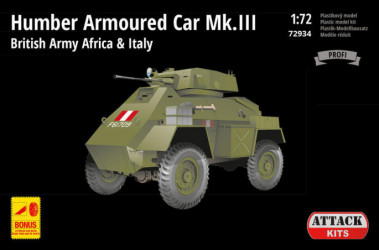 ATTACK Humber Armoured Car...