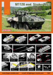 DRAGON M1128 Mod. Stryker MGS
