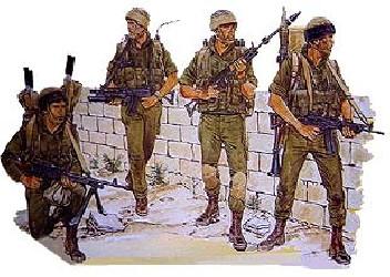 DRAGON Israeli Paratroops