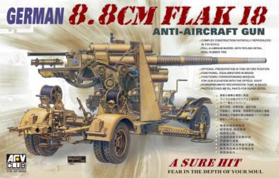 AFV CLUB 88mm Flak 18