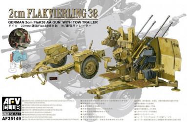 AFV CLUB 2cm Flakvierling...