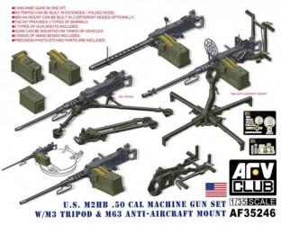AFV CLUB U.S. M2HB .50 Cal...