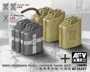 AFV CLUB German Fuel/Water...