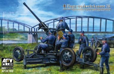 AFV CLUB German 4cm Flak 28...