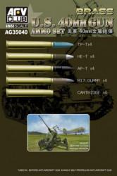AFV CLUB U.S. 40mm Gun Ammo...