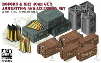 AFV CLUB Bofors & M42 40mm...