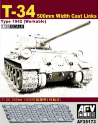 AFV CLUB T-34 Workable...