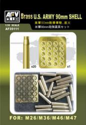 AFV CLUB U.S. Army 90mm Shell