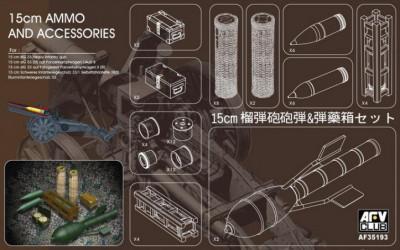 AFV CLUB 15cm Ammo and...