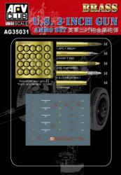 AFV CLUB U.S. 3inch Gun Ammo