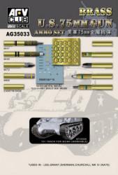 AFV CLUB U.S. 75mm Gun Ammo